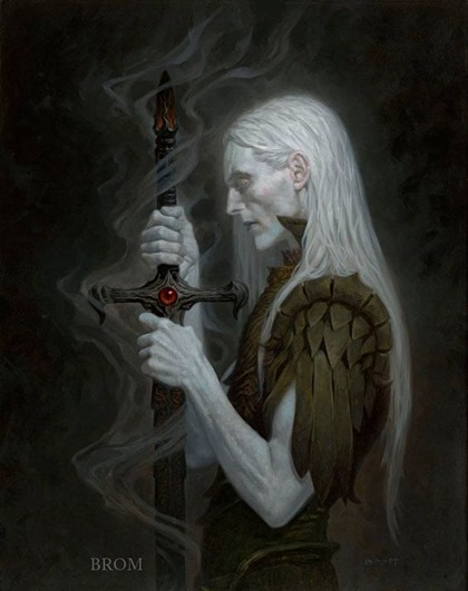 Elric by Brom