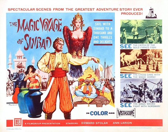 The magic voyage of Sindbad Corman
